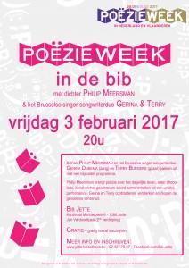 Poëzieweek 2017 Flyer